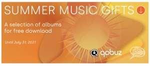 10 GRATIS muziek albums in de Qobuz Store