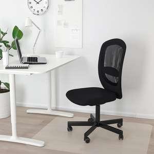 Flintan bureaustoel grijs of zwart afgeprijsd naar €39,99 (was €59,95) @ IKEA