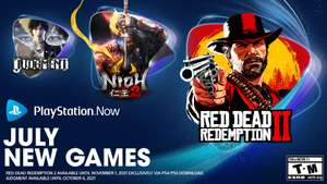 PlayStation Now games van juli