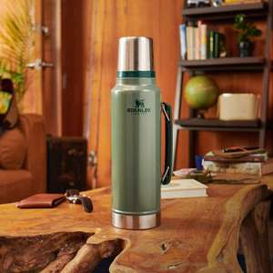 Stanley The Legendary Classic Thermosfles - 1900 ml - RVS/Groen