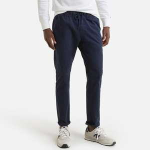 Tommy Jeans SCANTON DOBBY TRACK PANT - Broek - donkerblauw