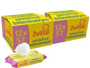 24 x 57 Zwitsal Wipes Sensitive