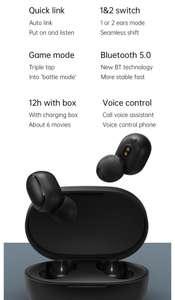 Xiaomi Redmi Airdots 2 TWS Earphone Wireless bluetooth 5.0 Earphone Stereo Noise Reduction Mic Voice Control