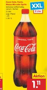 Grensdeal Coca Cola bij Netto Marken Discount Duitsland