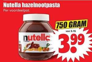 NUTELLA 750 gr. voordeelpot @ Dirk