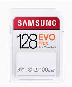 SAMSUNG EVO PLUS SD KAART 128GB