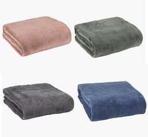 Fleece plaids 140x200 van €14,99 naar €4 @ Jysk winkels