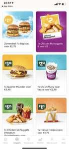 McFlurry €2,50 | Big Mac €2,75 met coupon McDonalds