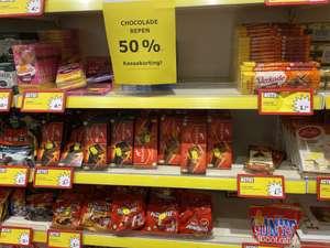 50% korting Chocolade (lokaal) (prijs is van Tony's)