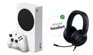 Xbox Series S + Kraken Headset t.w.v. 359,99 cadeau via Essent ( 3 jaar )