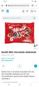 2e zak gratis AH mini mix nestle