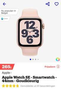 Bol + Amazon Apple Watch SE 44mm voor €265, Apple watch SE 40mm voor €239!!