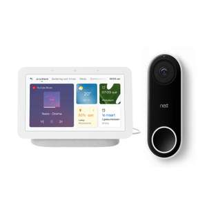 Google Nest Hello + Google Nest Hub (Gen. 2) voor €214 @ tink