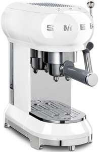 SMEG ECF01WHEU - Espressomachine Retro Jaren '50