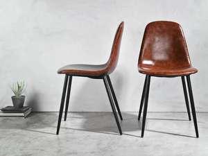 LIVARNO LIVING set van 2 eetkamerstoelen (€12,50 per stoel = bijna diefstal)