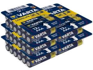 60x Varta Longlife Batterij (AAA)