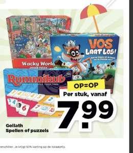 [Plus] Goliath spellen of puzzels vanaf € 7,99 (Rummikub, Triviant)