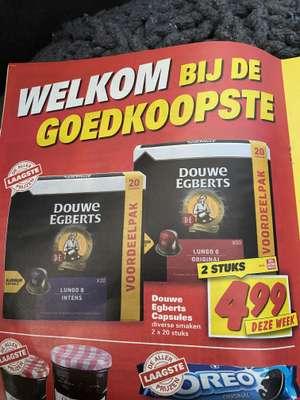 40 x Douwe Egbers Nespresso capsules €5 @Nettorama