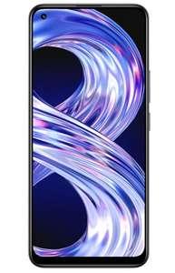 Realme 8 4G (4GB) 64GB Zwart/Zilver (5G, 128Gb-versie €199)