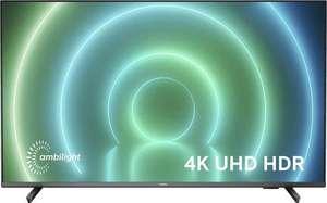"""Philips 50PUS7906 Zwart; 50"""" Android-TV met ambi-light en HDMI 2.1 met VRR"""