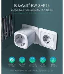 4 Pcs BlitzWolf® BW-SHP13 ZigBee 3.0 Smart WIFI Socket 16A EU
