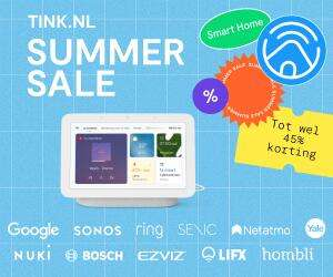 Summer sale (o.a. Google Nest, Ring en Nuki deals) @ tink