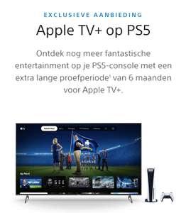 Krijg nu 6 maanden Apple TV+ op je PS5™