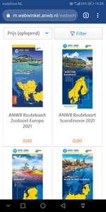 Gratis ANWB routekaarten van Europa (voor ANWB leden)