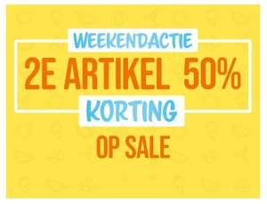 Weekenddeal: 2e sale item 50% extra korting