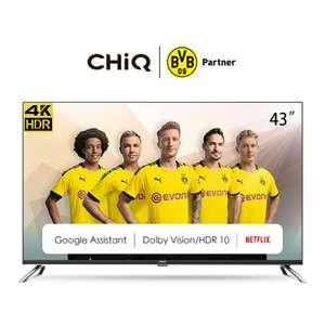 Chiq U43H7A frameless Android UHD LED TV 43 Inch
