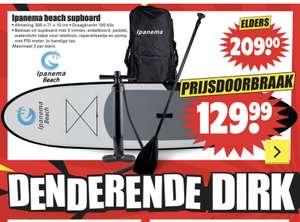 Supboard bij Dirk