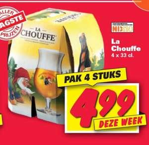 4x La Chouffe €4,99 [Nettorama]