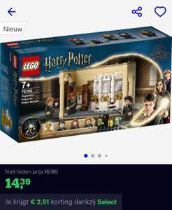 [Select leden] Lego Harry Potter Zweinstein: Wisseldrank vergissing (76386)