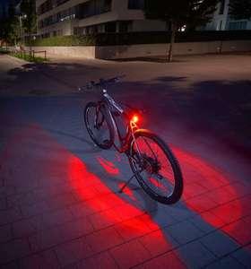 FISCHER Twin fietsachterlicht met 360° lichtcirkel
