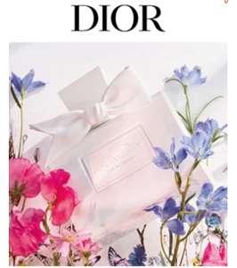 Gratis parfum sample Dior