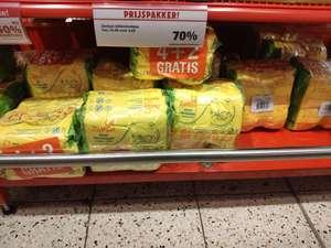 Hoogvliet supermarkt [lokaal Veenendaal??] Zwitsal billendoekjes 6 pakjes €4,80