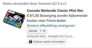Nintendo Classic Mini: NES @ Amazon.nl
