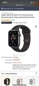 Apple Watch SE 44mm space grey