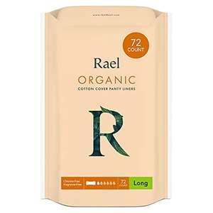 72 stuks Rael biologisch katoenen inlegkruisjes (parfum-, chloor-, pesticiden-vrij) regular of large?