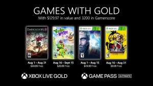 Xbox Games with Gold - Augustus 2021