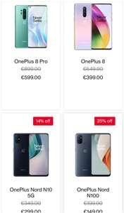 Diverse OnePlus telefoons + accessoires in de aanbieding