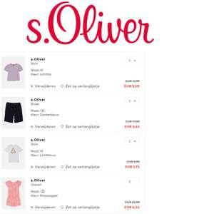 S.Oliver: veel -82%   dames / heren / kids   vanaf €1,75