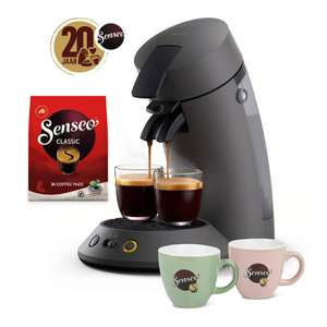 SENSEO® koffiepadmachine + koffiepakket t.w.v. €15