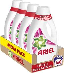 Ariel Sensations 160x wassen voor 20,32 excl. verzendkosten (13 cent per wasbeurt)