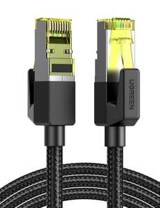 UGREEN Cat7 Ethernet Kabel (3M) met RJ45 Connector max. 10 Gbps voor €5,99 @ Amazon NL