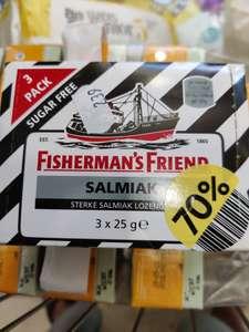 Etos: 70% korting op Fishermans friend en andere leuke producten