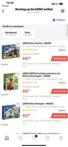 [bol.com] Verschillende Duplo of Lego 2e halve prijs