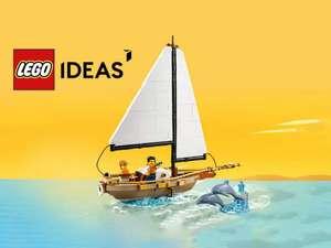 LEGO Ideas 40487 Sailboat Adventure gratis bij besteding vanaf 200 euro