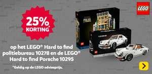 Lego Creator Expert Politiebureau (10278)(UITVERKOCHT) en Porsche (10295)