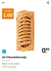 2 Frikandel broodjes Albert Heijn voor €1,- (vanaf maandag)